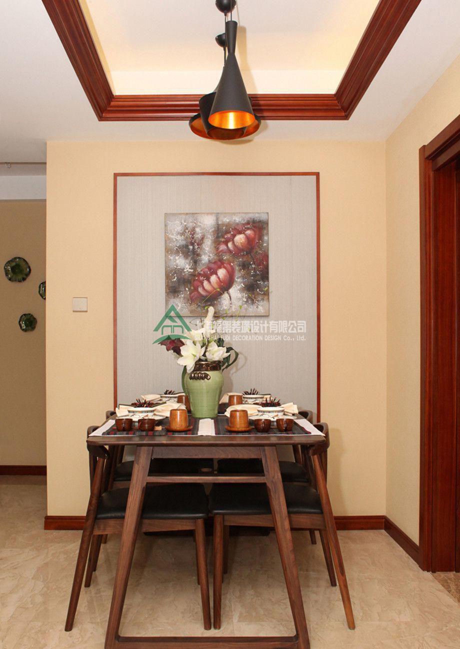 上海装修案例160方东南亚三居
