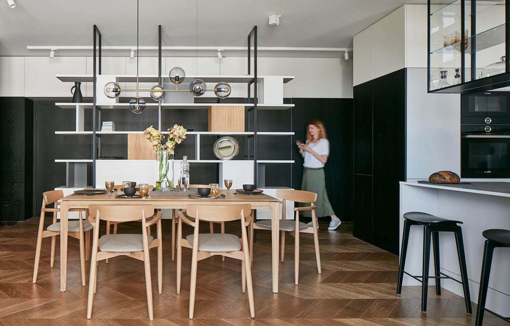 [现代简约] 原木紧凑公寓设计