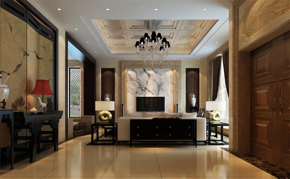 廣西裝修案例玉洞自建房400平  中式