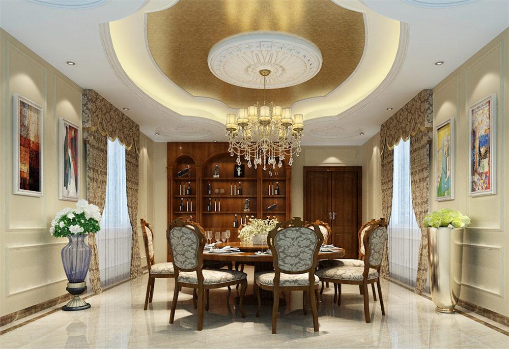廣西裝修案例五塘別墅500平 歐式風格