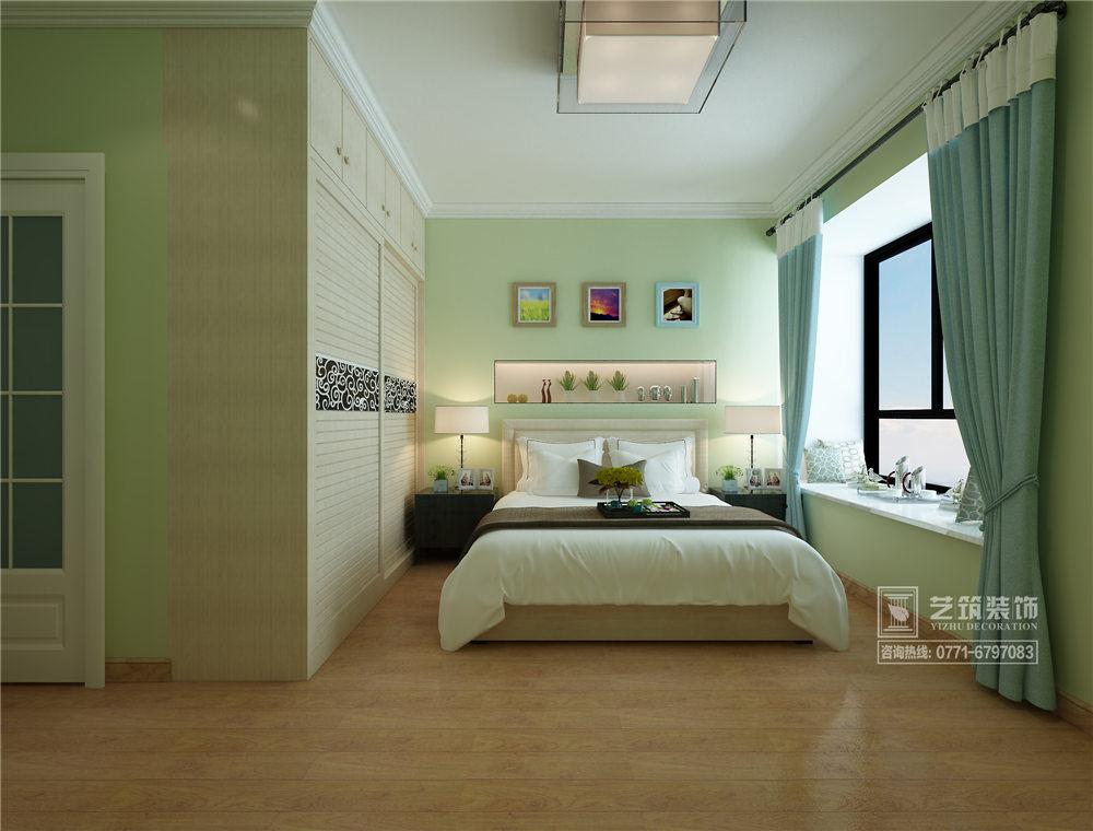 广西装修案例福满瑞园108平 现代风格