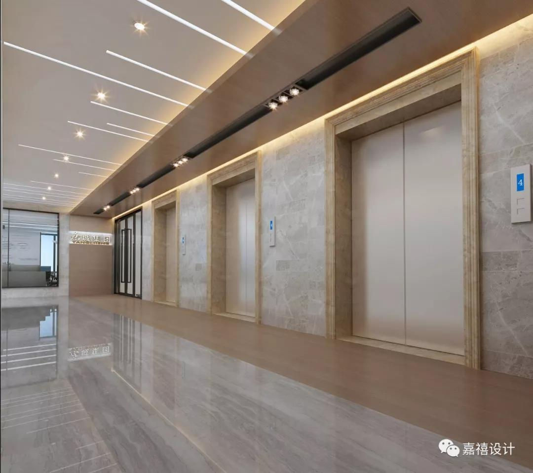 【嘉禧设计】作品|湖北唐城集团办公室