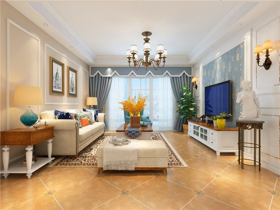 宜昌裝修設計師告訴你客廳怎樣做好軟裝搭配