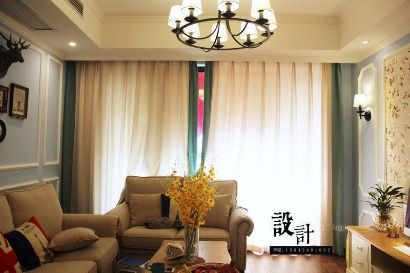 龙剑装饰告诉您客厅窗帘选什么颜色好