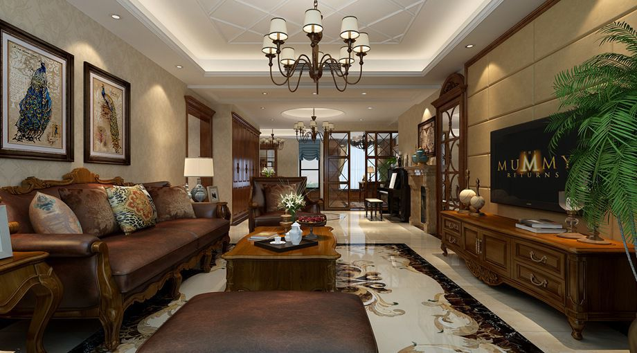 客廳飯廳裝修設計方案 如何布置客廳飯廳裝飾