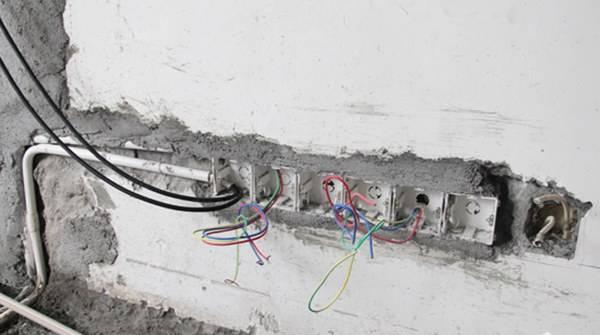 舊房改造中,水電改造首當其沖