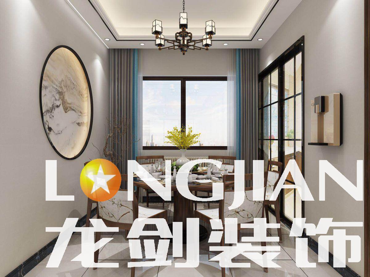 宜昌裝修案例梧桐邑 120 現代中式