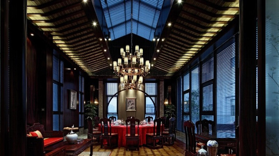 邢臺裝修案例高級咖啡廳裝修設計170方