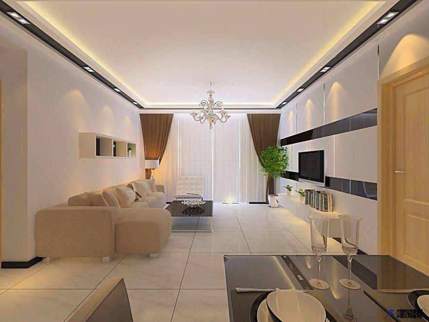 120方現代簡約三居室