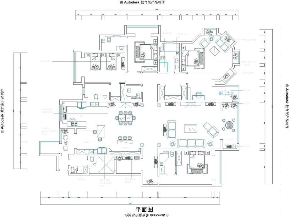 邯郸装修案例锦河湾390