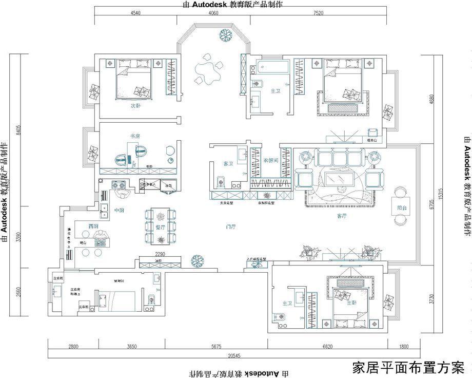 邯郸装修案例御景江山城