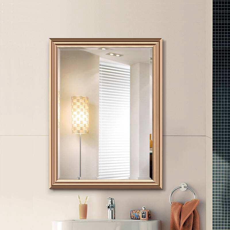 浴室镜你选择什么样的呢?小户型当然要用带收纳的,非常实用!