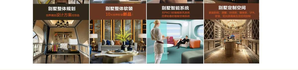 別墅整體規劃,別墅整體軟裝,別墅智能系統,別墅定制空間。