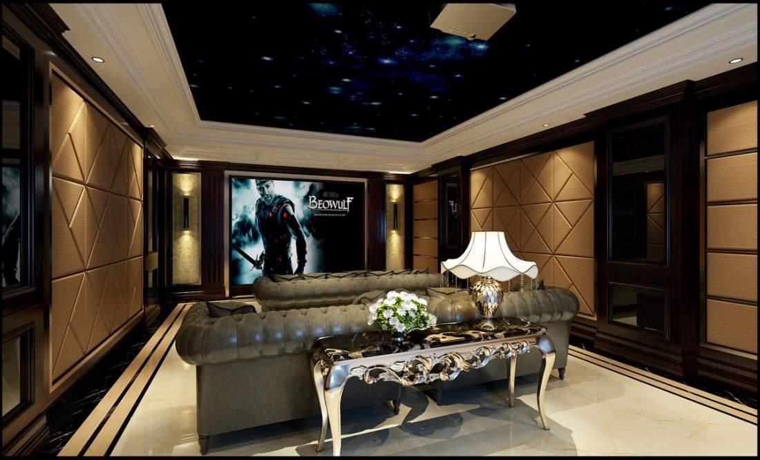 绵阳别墅装修远大美域案例-欧式风格装修600平米
