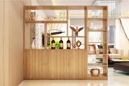 家装酒柜及隔断酒柜的做法设计