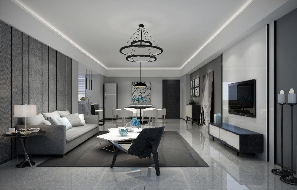 130平現代簡約風,打造有格調的家
