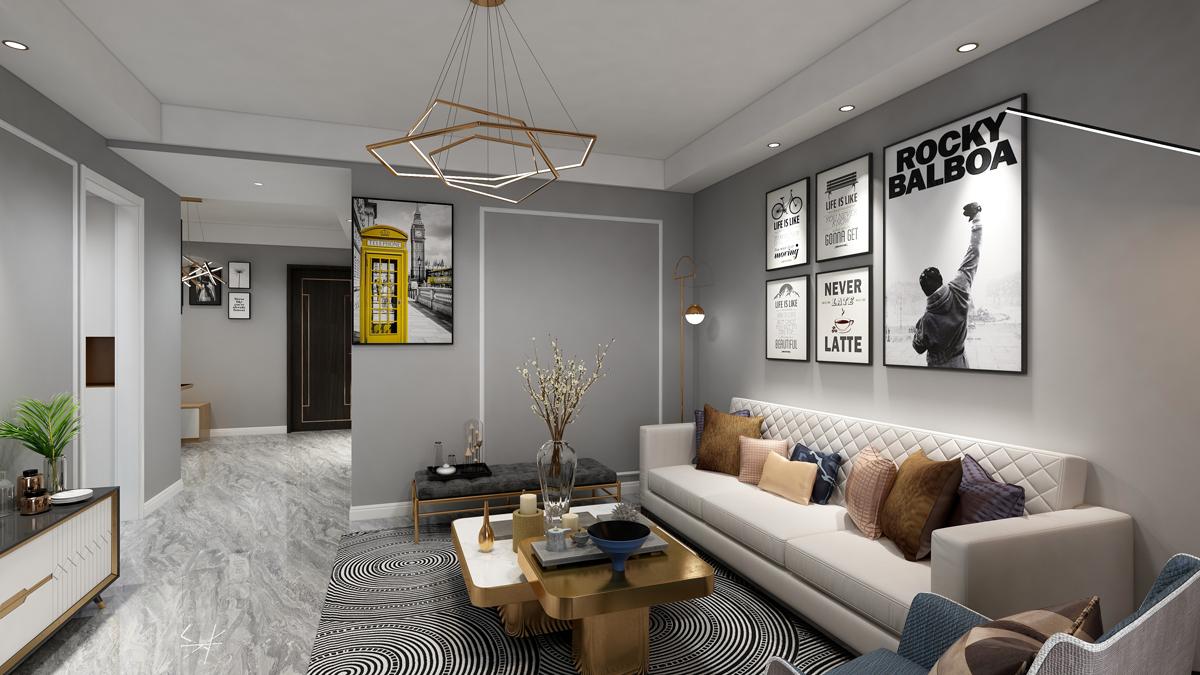 張家界裝修案例尚東御園2期6棟1單元802室