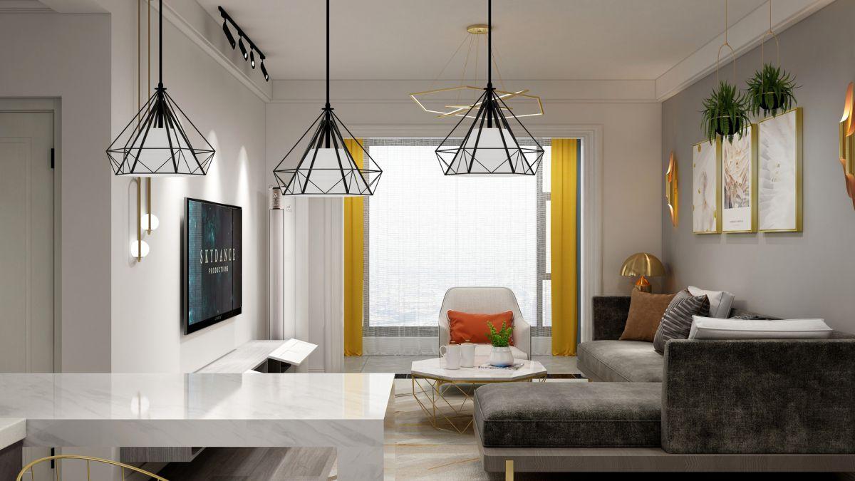 張家界裝修案例福天中央6-2-808室