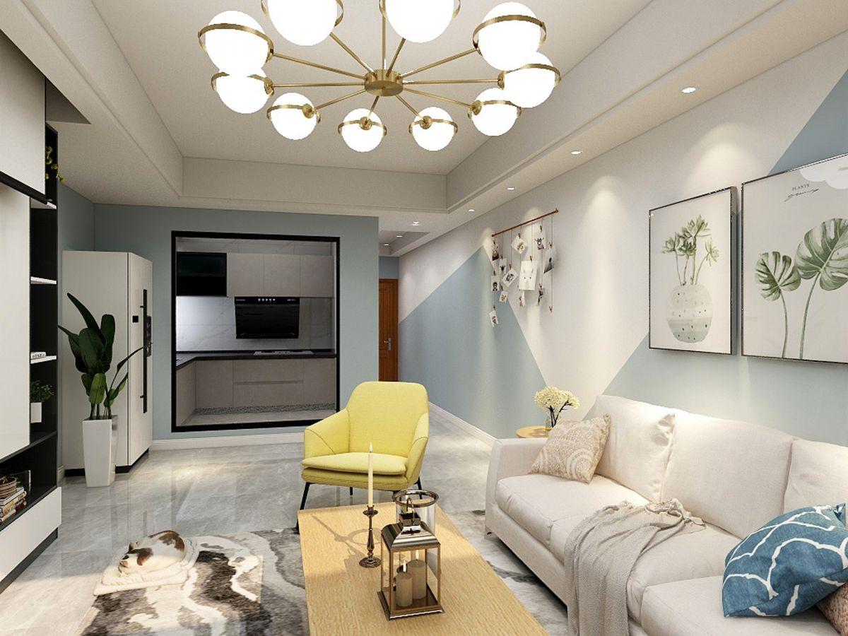 張家界裝修案例福天中央6-1107室