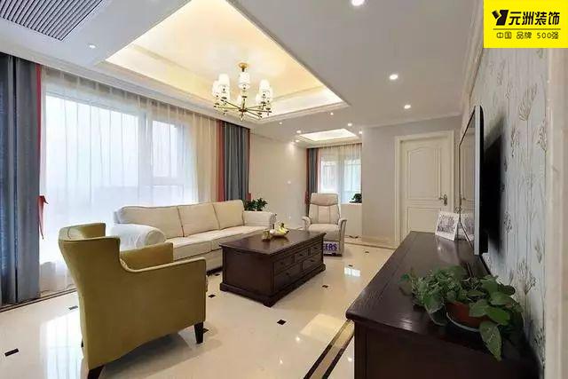 【淮南元洲装饰】150㎡的简美复式楼装修,各个空间都拥有超级棒的采光与视野,真的是太舒服了!