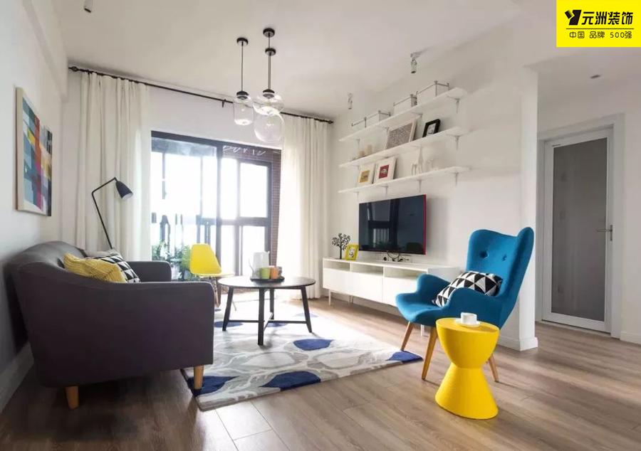【家装课堂】小户型客厅要想出彩,电视背景墙是关键。