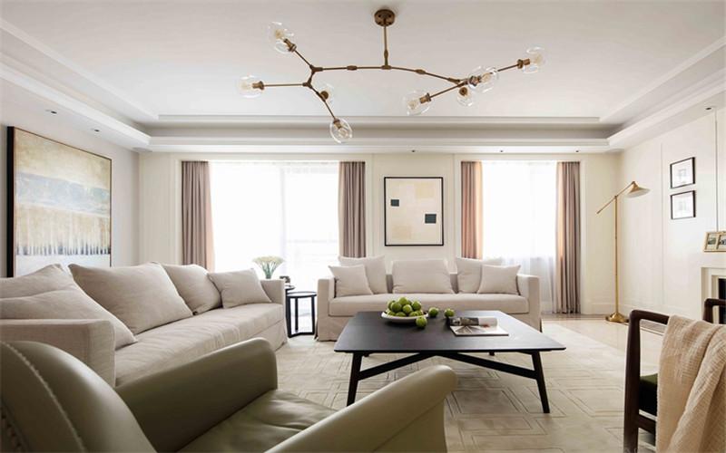 120平米裝修,美式風格,舒適