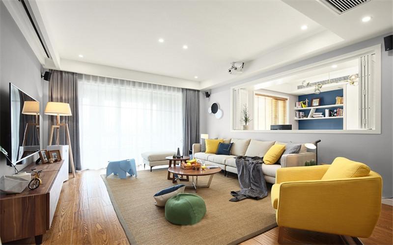 130㎡裝修 北歐風格 公寓裝修