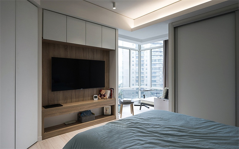 140平簡約風格三居室裝修