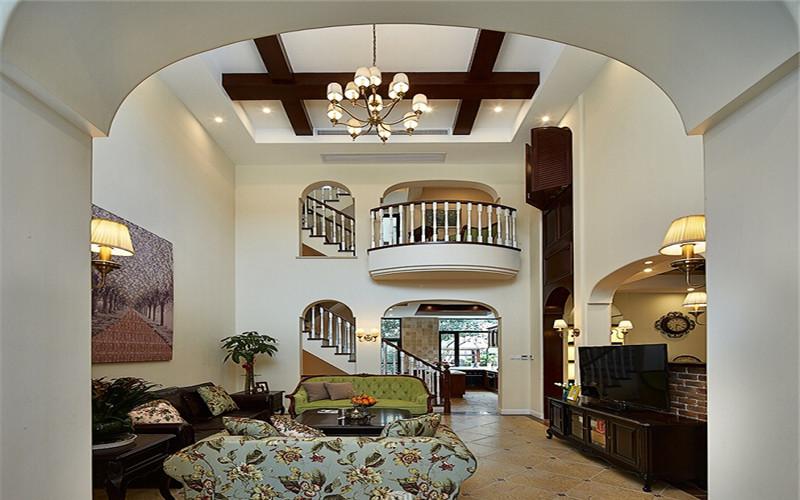 別墅-286平米-美式鄉村風格