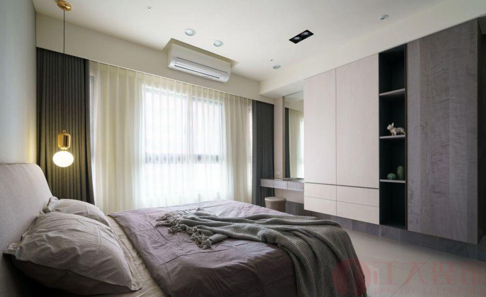 卧室装修效果图-长沙装修公司江大装饰