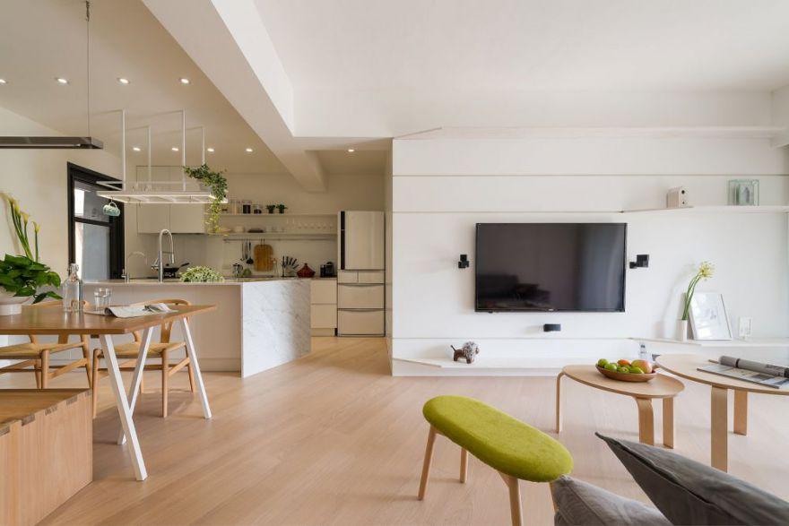 长沙70平  现代简约风格住宅