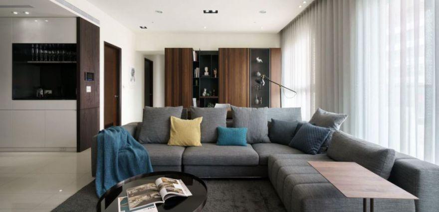 125㎡现代风住宅 | 长沙江大装饰