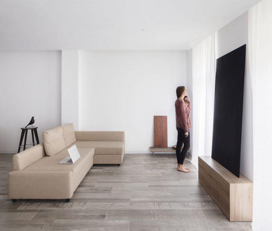 55平现代风公寓解析