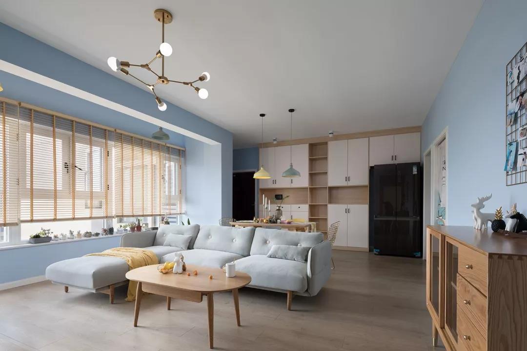 眉山裝修案例英倫藍岸蔣哥的新家
