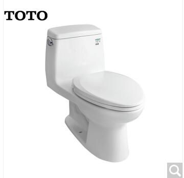 武汉TOTO卫浴 4.8L连体坐便器抽水马桶智洁连体座便器防堵节水马桶