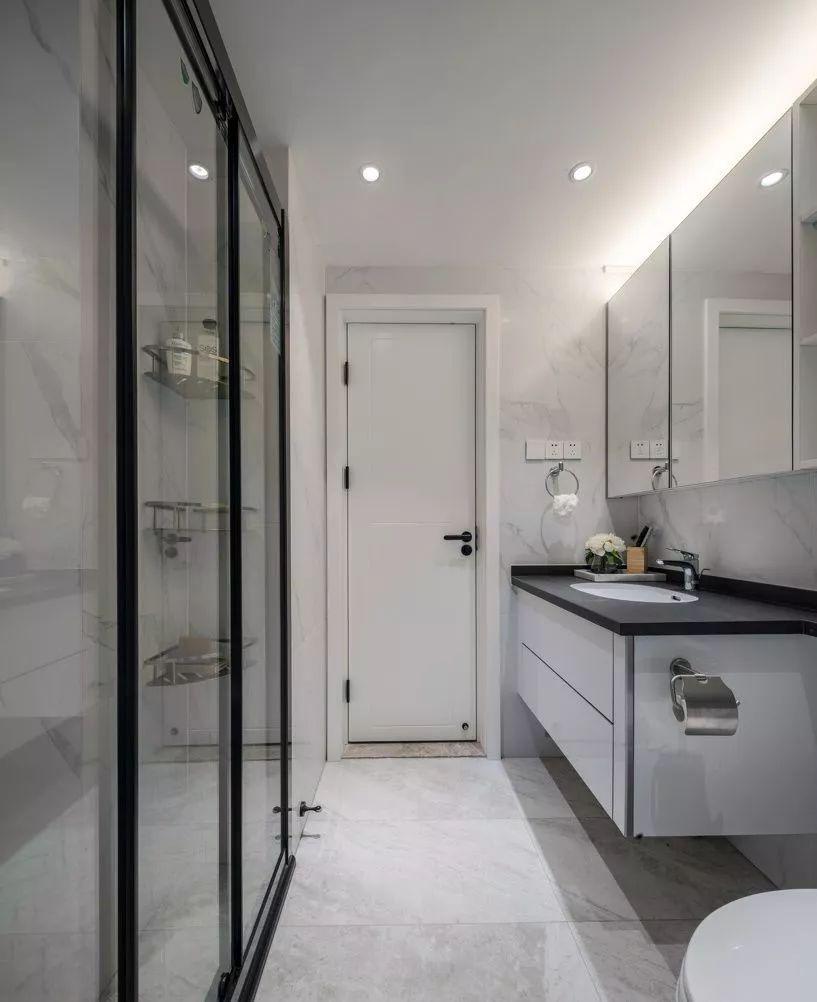 85㎡北歐混搭風2室2廳,高級灰營造優雅時尚感