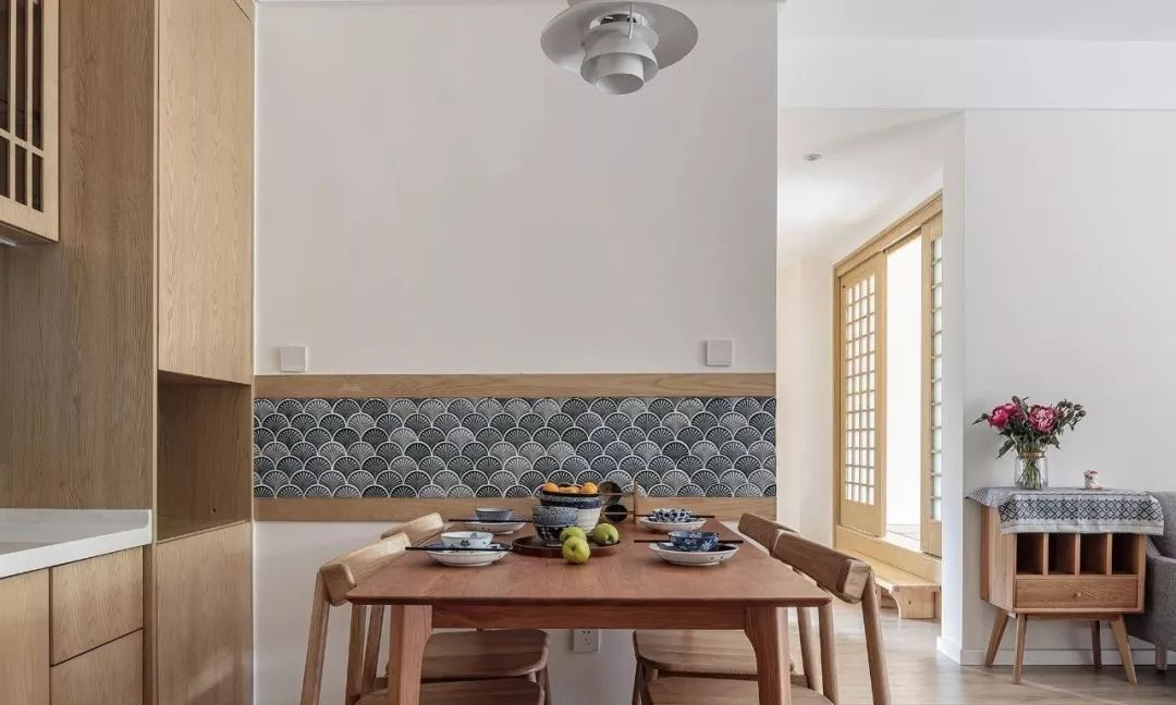 102m2溫潤木色日式三居,閑適靜謐、溫柔舒暢,感受生活中淡淡的美好