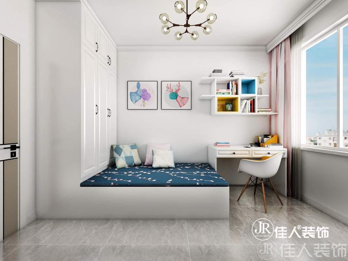 紫城秦皇半島三室—現代簡約北歐混搭風格