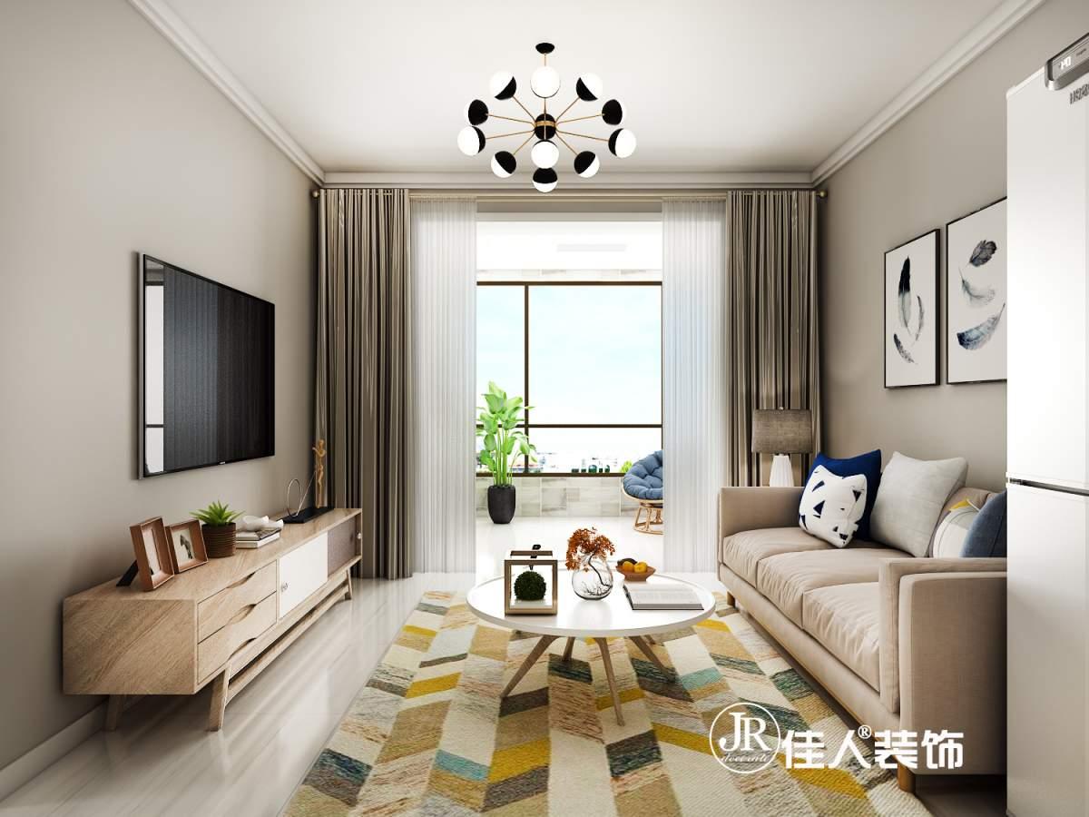 中鐵秦皇半島兩室—現代簡約風格