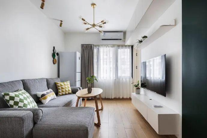 38平米超小戶型,擁有兩居室通透不擁擠