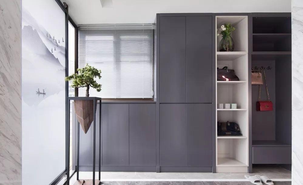 玄關鞋柜+衣柜的3種組合設計,不過時
