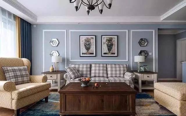 127平現代美式風格三居室,溫馨大氣舒適