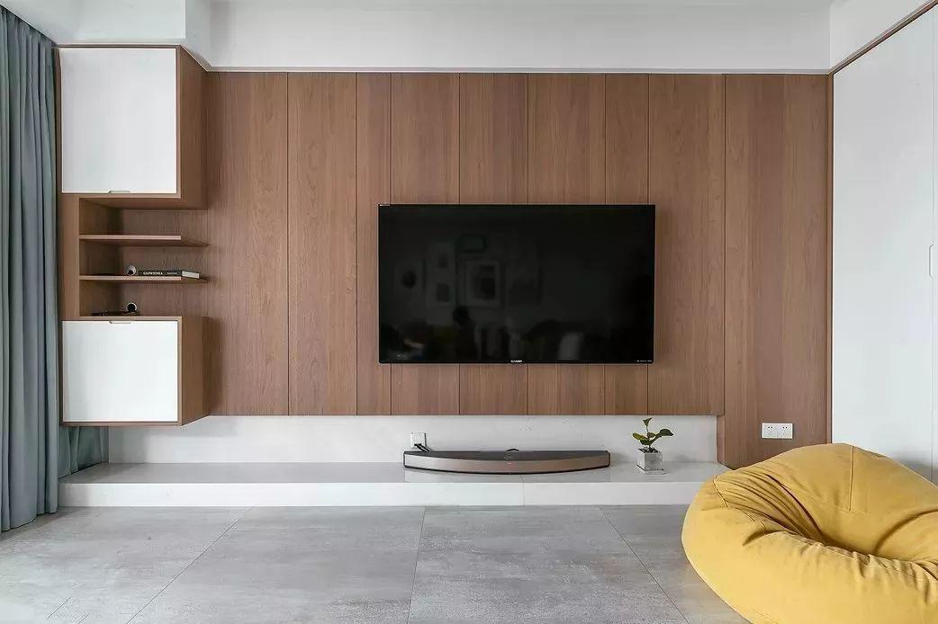 流行電視背景墻設計