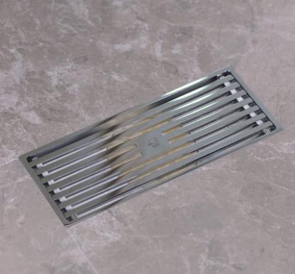 潜水艇地漏 TKC50-20 快排水淋浴室卫生间加长全铜长方形防臭防堵