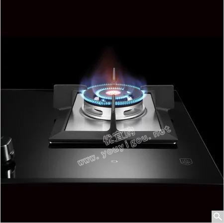 美的(Midea) JZT-MQ7208-G 天然气 灶具 嵌入式 钢化玻璃