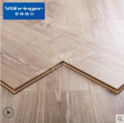 菲林格尔木地板橡木德国高密度纤维板强化复合地板F-321