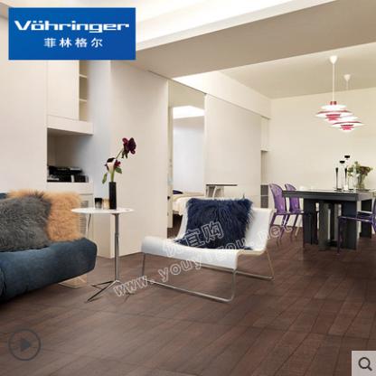 菲林格尔橡木木地板德国高密度纤维板强化复合地板F-384