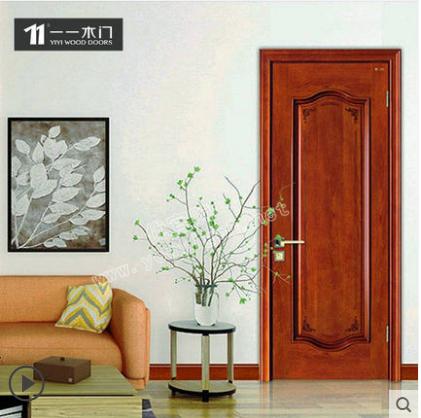 一一木门定制木门室内实木门现代简约实木复合静音门房间门QM-021