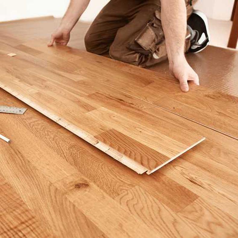 济南强化复合地板 错位铺贴施工费