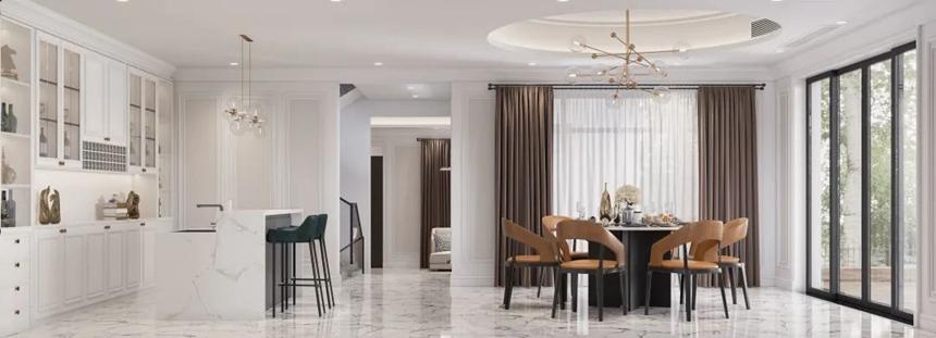 别墅装修设计丨4种不同风格不同的生活